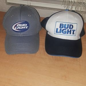 Bud Light hats two of them